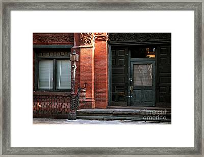 Old Savannah Style Framed Print by John Rizzuto