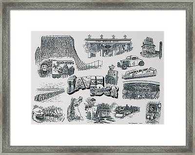 Old Savin Rock Framed Print