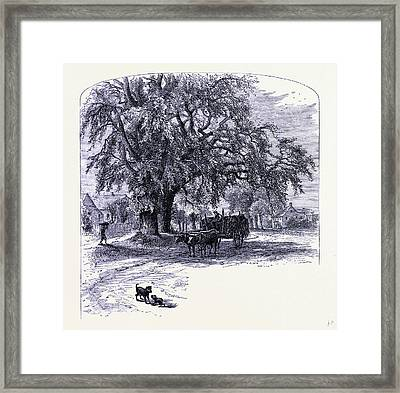 Old Saybrook United States Of America Framed Print by American School