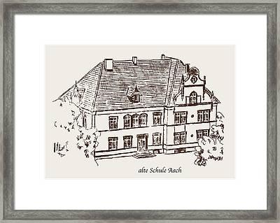Old School Aach Framed Print by Michael Kuelbel
