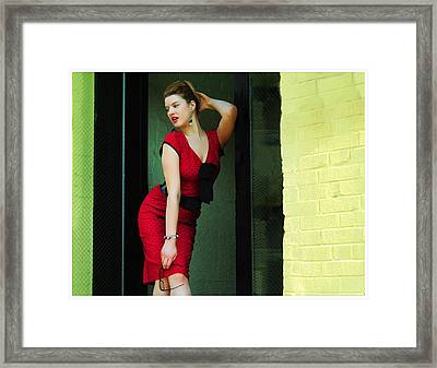 Old School Framed Print by Chris Carr and Haskell Jules
