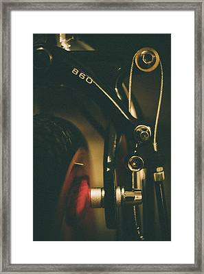 Old School Cool Bmx Framed Print by Jamian Stayt