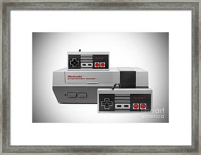 Old School Gaming Framed Print by Brandon Alms