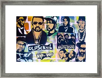 Old School Hip Hop 2 Framed Print