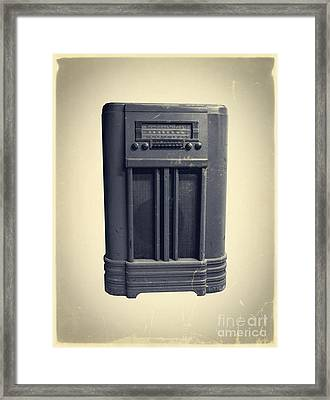 Old School Ipod Framed Print by Edward Fielding
