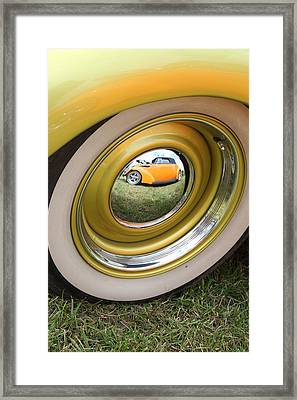 Old School Reflection Take 2 Framed Print