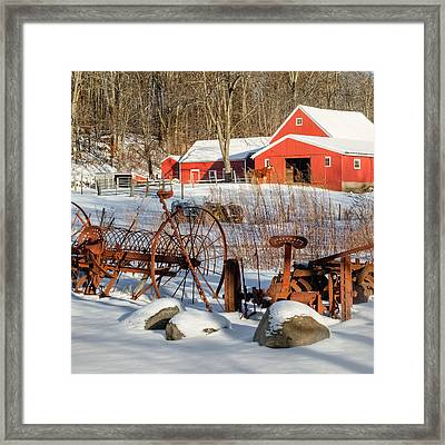 Old School Square Framed Print by Bill Wakeley