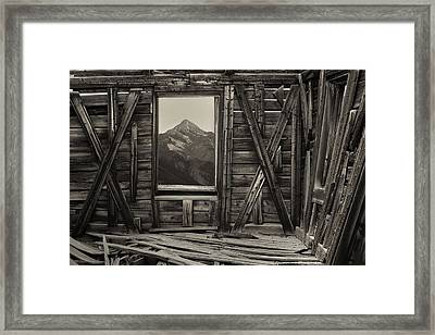 Old School Wilson Picture Frame Framed Print