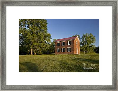 Old Schoolhouse Framed Print