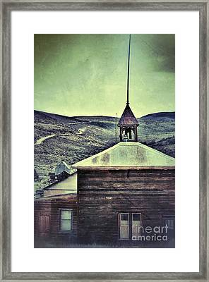 Old Schoolhouse Framed Print by Jill Battaglia