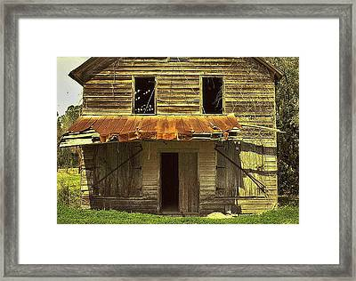 Old Seabrook House Framed Print by Patricia Greer