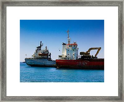 Old Ships Framed Print