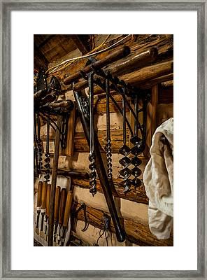 Old Shop Framed Print by Joe Scott