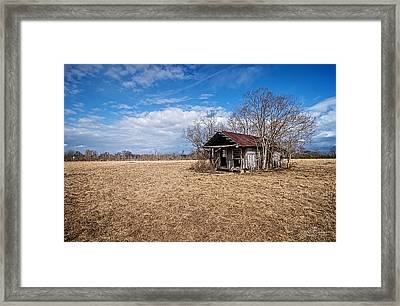 Old Shotgun House Framed Print by Andy Crawford