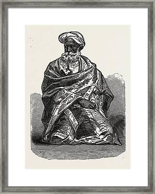 Old Sikh, India Framed Print