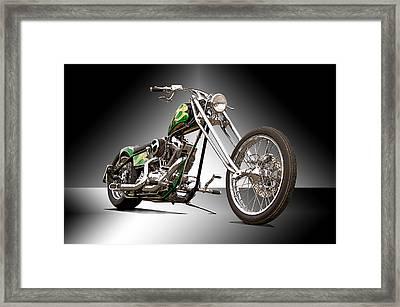 Old Skool Chopper II Framed Print by Dave Koontz