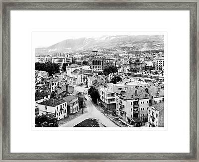 Old Skopje Framed Print by Norman Gabitzsch