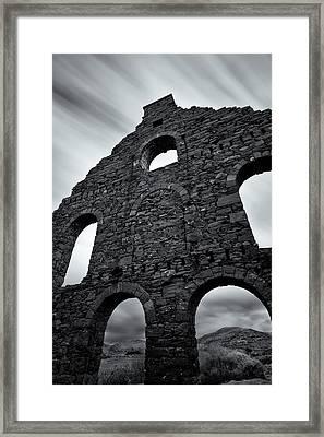 Old Slate Mill Framed Print