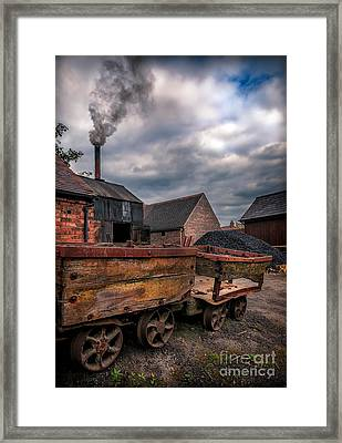 Old Smoke Framed Print by Adrian Evans