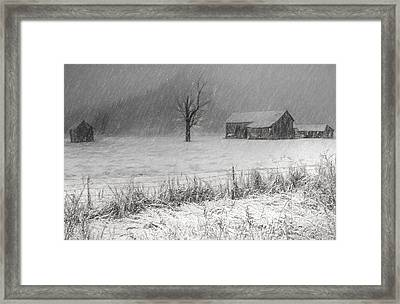 Old Sod Farm Framed Print
