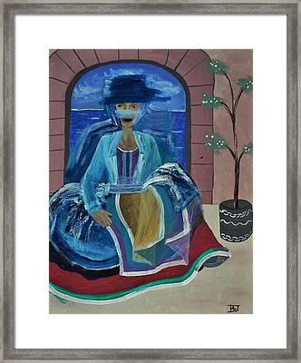 Old Soul Framed Print by Barbara St Jean