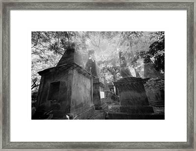 Old South Park Street Cemetery In Kolkata Framed Print by BJ Graf