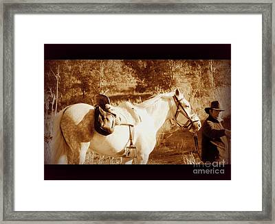 Framed Print featuring the photograph Old Spain by Clare Bevan