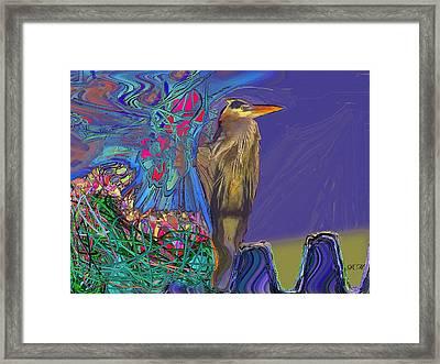 Old Spirit Framed Print