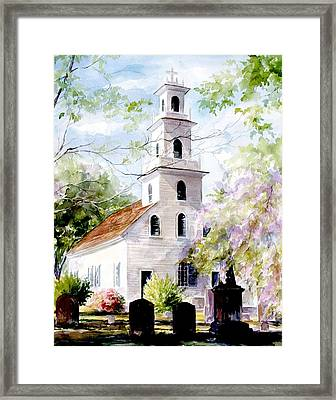 Old St. David's Church Framed Print