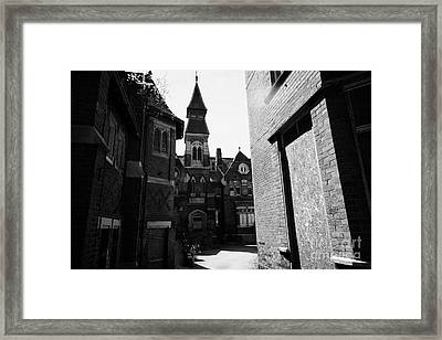 old st josephs orphanage building Preston Lancashire UK Framed Print by Joe Fox