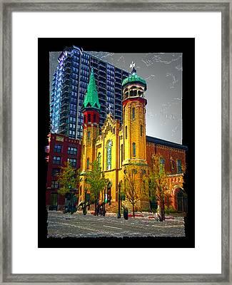 Old St Pats Framed Print