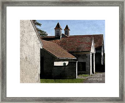 Old Stables At Knox Farm Framed Print by Tom Brickhouse