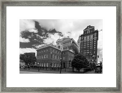 Old State House 15568b Framed Print by Guy Whiteley