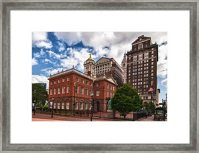 Old State House Framed Print