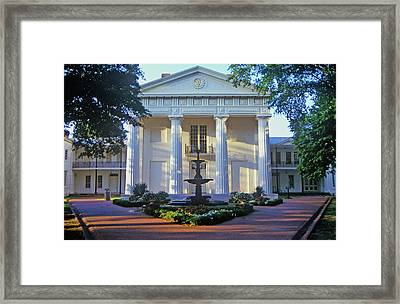 Old State House In Little Rock, Arkansas Framed Print