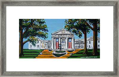 Old State House Framed Print by Mitchell McClenney