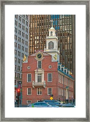 Old State House Framed Print