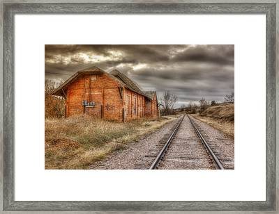 Old Station Framed Print