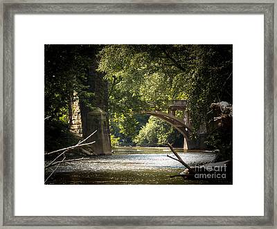 Old Stone Bridge Framed Print