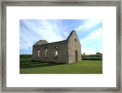 Old Stone Church 2 Framed Print