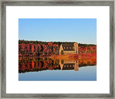 Old Stone Church Framed Print