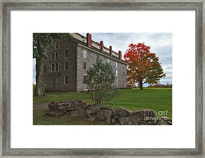Old Stone House Framed Print by Charles Kozierok