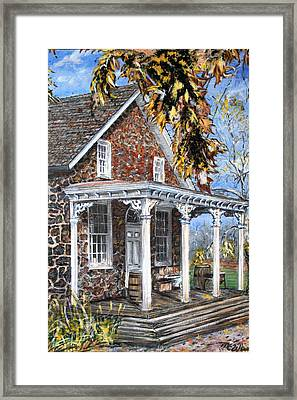 Old Stone Store II Framed Print by Martin Way