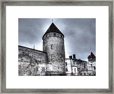 Old Stonia Tallin Framed Print