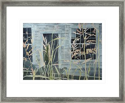Framed Print featuring the painting Old Store At June Bug Road by Joel Deutsch