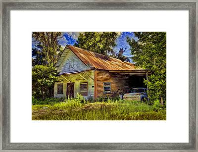 Old Store - Old Ford Framed Print