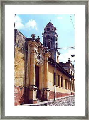 Old Street Framed Print by Mario Perez
