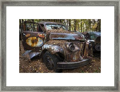 Old Studebaker Truck Framed Print