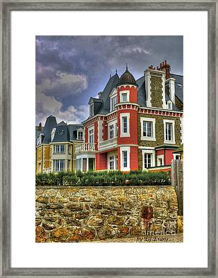 Old Style In Parame  Framed Print