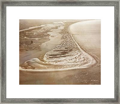 Old Style Topsail II Framed Print by Betsy C Knapp